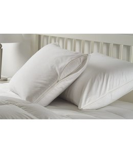 W HOME COTTON 2 PACK PILLOW PROTECTORS WITH ZIPPER (MP24)