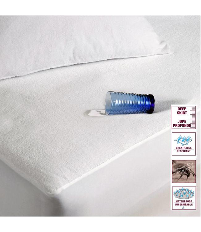URBAN II - WATERPROOF TERRY MATTRESS PROTECTOR (MP8)