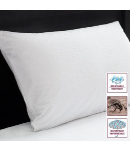 URBAN II - WATERPROOF TERRY PILLOW PROTECTOR (MP20)