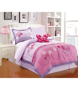 LITTLE ADRIEN *4pc JUVENILE COMFORTER SET TWIN (MP4)