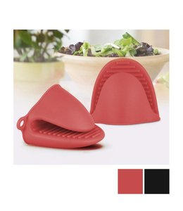 A LA CUISINE *SILICONE OVEN MITT RED (MP12)