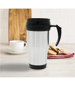 A LA CUISINE STAINLESS STEEL TRAVEL MUG  (MP6)