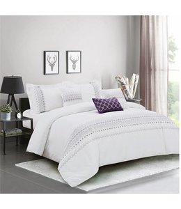 SANDRA VENDETTI AIDA 5PC COTTON COMFORTER SET (MP3)