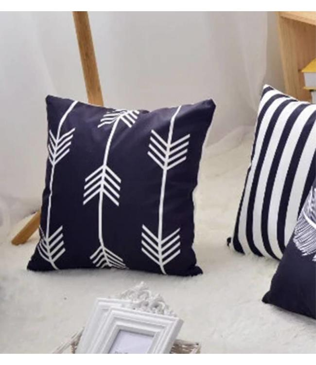 "ADRIEN LEWIS *ARROWS PRINTED CUSHION 18X18"" (MP6)"