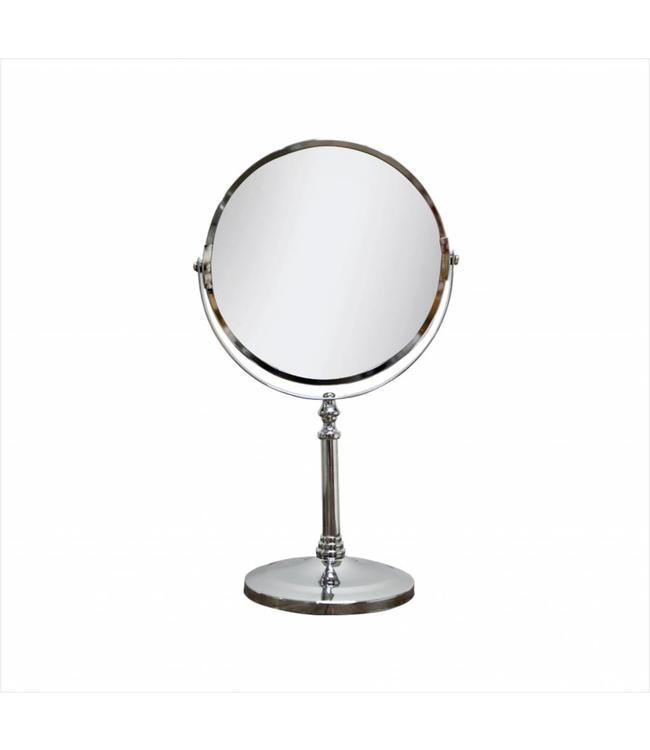 MAISON CONDELLE *CHROME PLATED VANITY MIRROR (MP6)