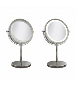 MAISON CONDELLE *CHROME PLATED LED VANITY MIRROR (MP6)