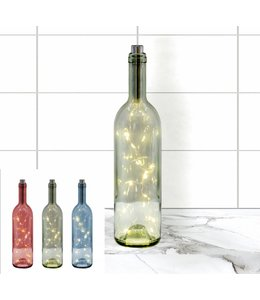 "LAUREN TAYLOR LED DECORATIVE BOTTLE AST 14"" (MP9)"