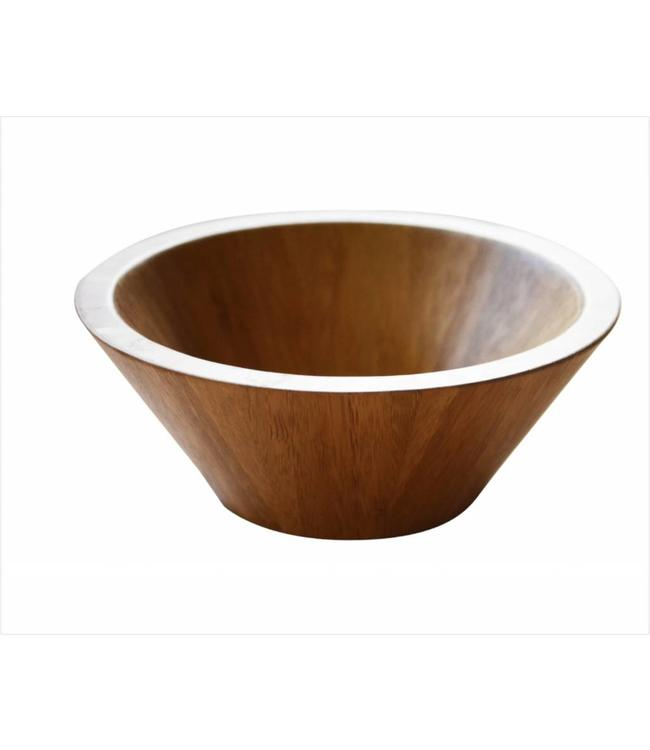 A LA CUISINE BAMBOO SALAD BOWL (MP4)