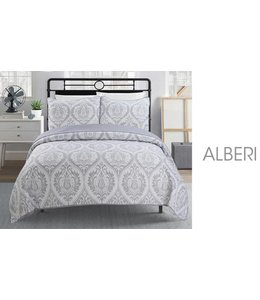 ADRIEN LEWIS *DWELL COLLECTION QUILT SET (MP4) AST