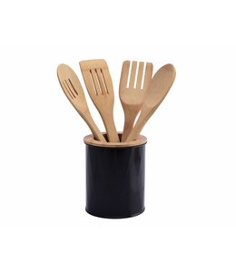 A LA CUISINE 5PC BAMBOO KITCHEN UTENSIL SET (MP4)