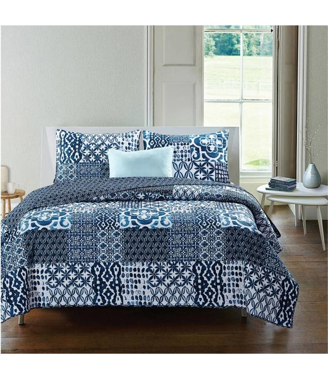 *MASAI QUILT SET BLUE (MP3)