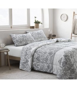LAUREN TAYLOR *MACKENNA 3PC COMFORTER SET ASSORTED (MP4)