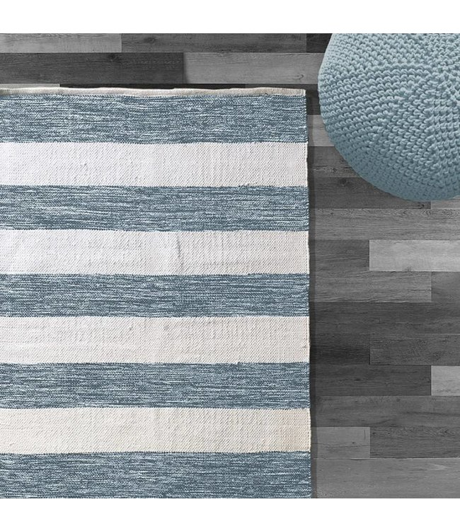 LAUREN TAYLOR COTTON STRIPE RUG (MP6)