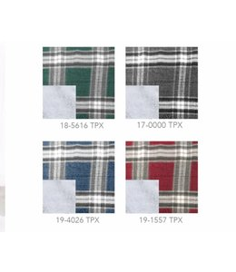 "MAISON CONDELLE *CHRISTOPHE PLAID MICROFLEECE REVERSE TO SHERPA THROW 50X60"" (MP6)"