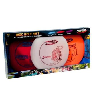 Innova Disc Golf Innova DX Golf Disc: 3-Disc Starter Pack