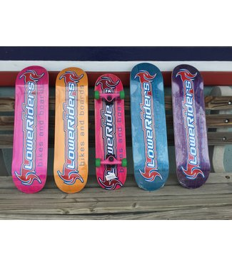 LoweRiders skateboard decks