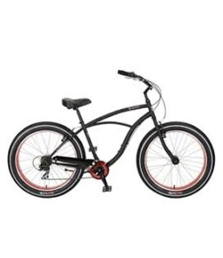 "SUN BICYCLES SUN BAJA CRUZ 18"" MATTE BLK M18"