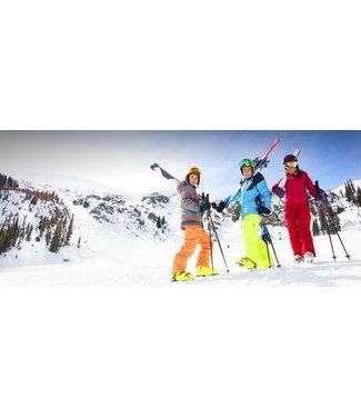 LoweRiders YOUTH SEASON RENTAL PACKAGE - Ski - 12 and under