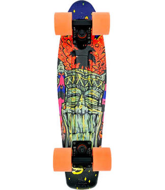 SWELL 22 COMPLETE TIKI VOLCANO BLK/BLK/ORG
