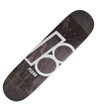 PLAN B STAINED DECK 8.0 BLACK