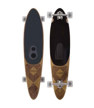 "GLOBE LONGBOARD GSB PINNER DARK MAPLE 9"" X 41.25 (BLUETOOTH SPEAKER)"