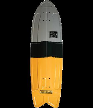 ALUMINATI SUMMER SURF FISH DECK 8.12