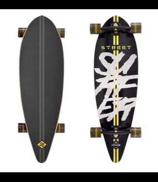 "Street Surfing Longboard 40"" Pintail Road Line"