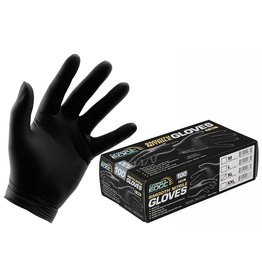 Growers Edge Grower's Edge Black Powder Free Nitrile Gloves 6 mil - Small (100/Box)