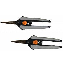 Fiskars Fiskars Non-Stick Softgrip Micro-Tip Pruning Snip (2/Pk)
