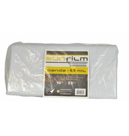 Panda Film Sunfilm Black & White Panda Film 10 ft x 25 ft Folded & Bagged