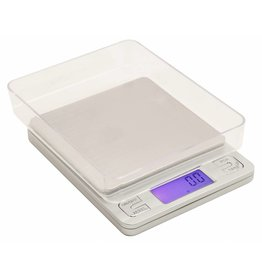 Measure Master Measure Master 3000g Digital Table Top Scale w/ Tray ? 3000g Capacity x 0.1g Accuracy