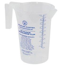 Measure Master Measure Master Graduated Round Container 32 oz / 1000 ml