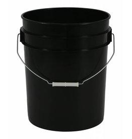 Gro Pro Gro Pro Black Plastic Bucket 5 Gallon