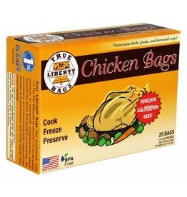 True Liberty True Liberty Chicken Bags 12 in x 20 in (25/Pack)