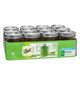 Ball Ball Jars Wide Mouth Pint (12/Cs)