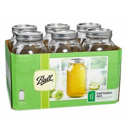 Ball Ball Jars Wide Mouth Half Gallon (6/Cs)
