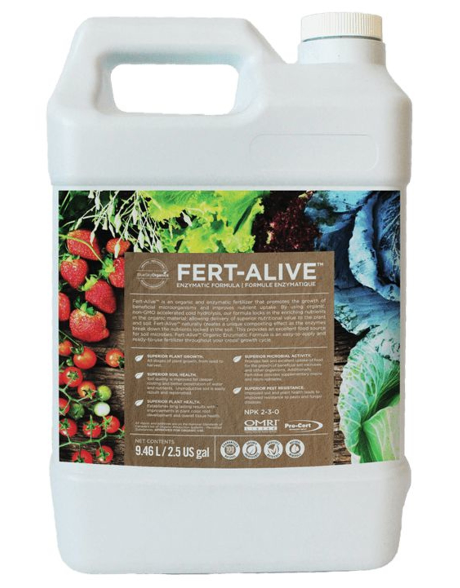 BlueSky Organics Fert-Alive 2.5gal