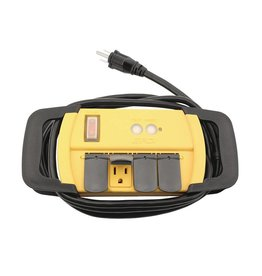 Power All Power All Indoor GFCI Power Strip 4 Outlet 125 Volt 6 ft Cord