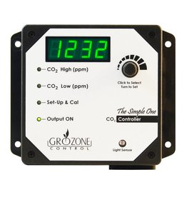 Gro Zone Grozone Control SCO2 0-5000 PPM CO2 Controller - Simple One Series