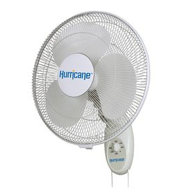 Hurricane Hurricane Supreme Oscillating Wall Mount Fan 16 in