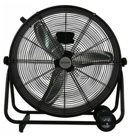 Hurricane Hurricane Pro High Velocity Metal Drum Fan 24 in