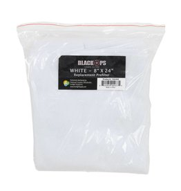 Black Ops Black Ops Replacement Pre-Filter 8 in x 24 in White