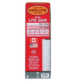 Can Fan Can-Lite Filter 2600 Plastic w/ out Flange 353 CFM