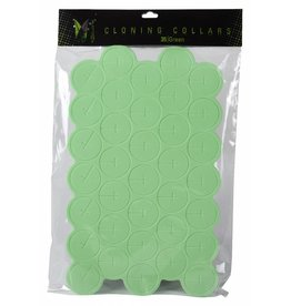 EZ Clone Ez-Clone Colored Cloning Collars Green (35/Bag)