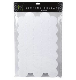 EZ Clone Ez-Clone Colored Cloning Collars White (35/Bag)