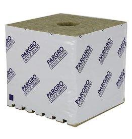 Grodan Grodan Pargro QD Biggie Block 6 in x 6 in x 6in w/ Hole /48 Pack