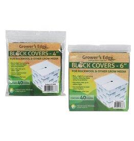 Growers Edge Grower's Edge Block Covers 6 in 40/Pack