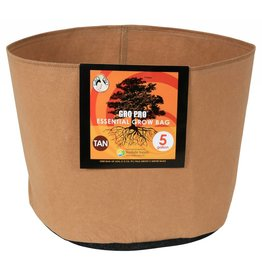 Gro Pro Gro Pro Essential Round Fabric Pot - Tan 5 Gallon