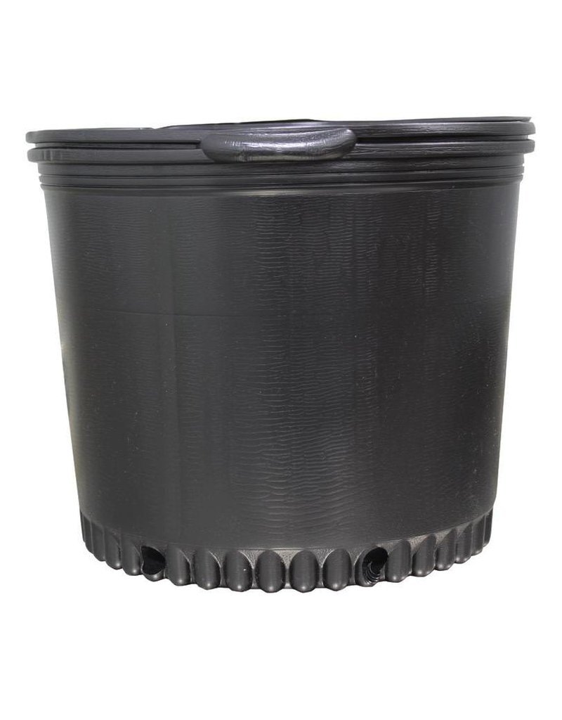 sunlight garden supply Blow Molded Nursery Pot 7 Gallon