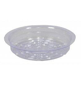 Gro Pro Gro Pro Premium Clear Plastic Saucer 6 in (50/Cs)